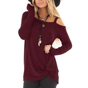 Twist Front Kendra Sweater S